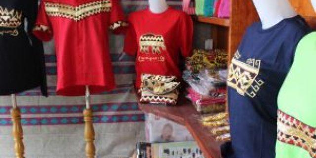 Kaos Tapis Lampung Produk UMKM lampung yang Kekinian