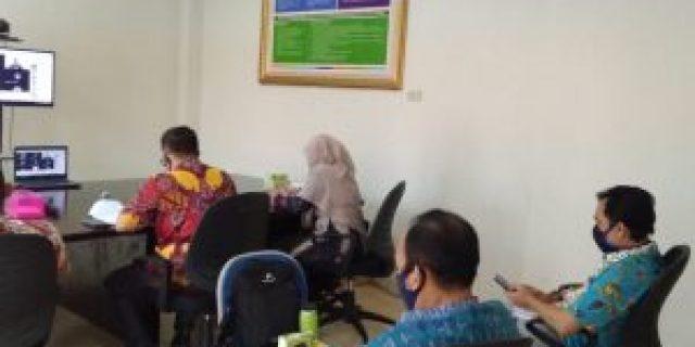 Rapat Koordinasi KPU Provinsi Lampung dengan Bawaslu Provinsi Lampung tentang Persiapan Verifikasi Faktual Bakal Calon Perseorangan Pemilihan Serentak 2020