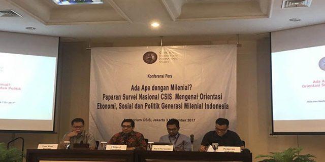 Generasi Milenial Pilih Prabowo Dibanding Jokowi