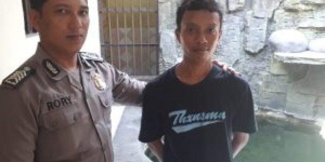 Jadi Kurir Narkoba, Pemuda Warga Kaliawi Ditangkap Polsek Tanjung Karang Barat
