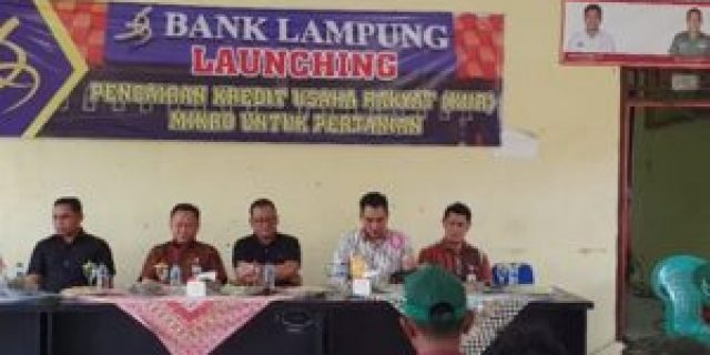 Bank Lampung KCP Dayamurni Cairkan KUR Kepada 750 Petani