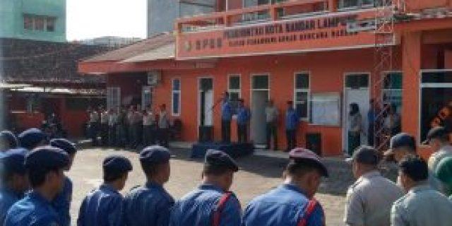 Sebanyak 56 Personel BPBD Kota Bandar Lampung Disematkan