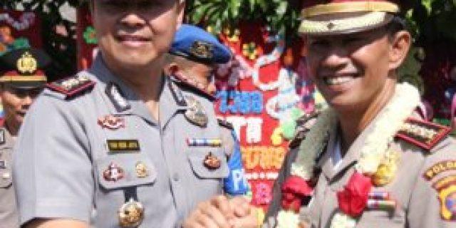 Polresta Kota Bandar Lampung Adakan Penyambutan AKBP Yan Budi Jaya Dan Farewell Kapolresta Kombes Pol. Wirdo Nefisco