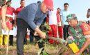 Kodim 0241 Lampung Selatan Tanam 4.000 Pohon