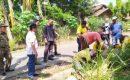 Tinjau Lokasi Pelebaran Jalan Nusantara, Herman HN Minta Ketebalan 20 CM
