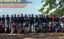 Sunmory,Ratusan Bikers Gisting Bersihkan Pantai