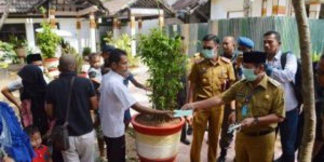 Herman HN Buka Posko Pencegahan Covid di Wilayah Perbatasan Kota Bandar Lampung