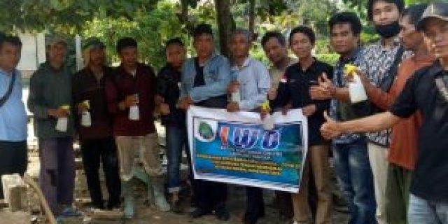 IWO Lamteng Bagikan 100 Hand Sanitizer Herbal