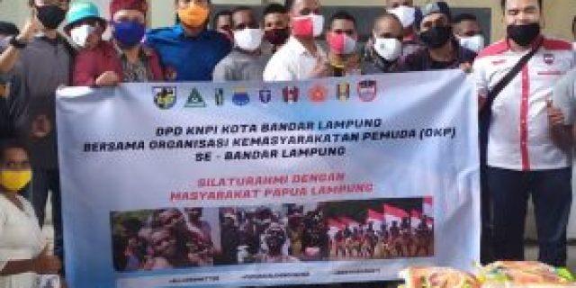 Kunjungi Komunitas Papua KNPI Pertegas Nilai Kebhinekaan
