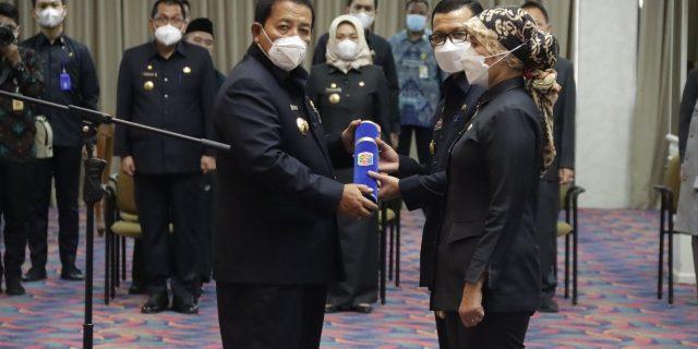 Gubernur Arinal Djunaidi Melantik 8 Pejabat Pimpinan Tinggi Pratama di Lingkungan Pemerintah Provinsi Lampung