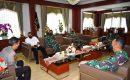 Danrem 043/Garuda Hitam Brigjen TNI Drajad Brima Yoga, S.I.P., M.H., Kunjungi Polda Lampung