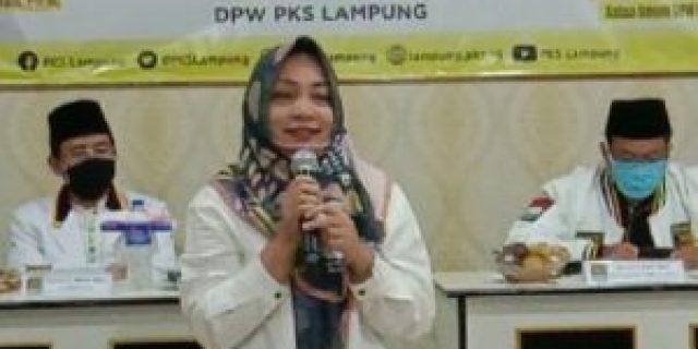 Nessy Kalvia Mustafa Hadiri Penyerahan Rekomendasi PKS