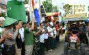 Lampung Timur Gelar Festival Panen Padi