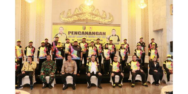 Gubernur Lampung Canangkan Atlet PON XX
