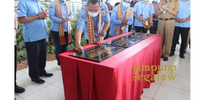 Wakil Gubernur Lampung Hadiri Launching Dan Pengukuhan Pelopor Perdamaian Tahun 2020