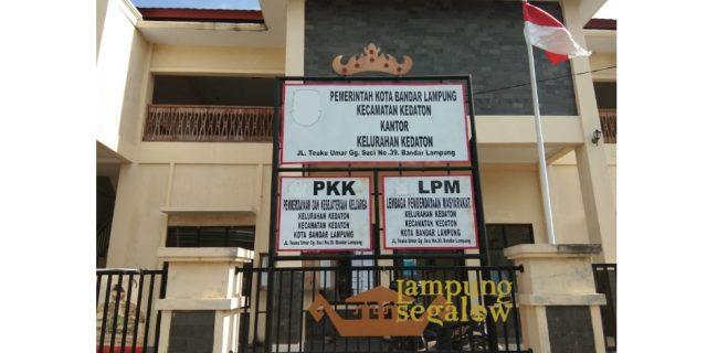 Kelurahan Kedaton Keluarkan Blanko Pendaftaran Linmas Agar Tertib Administrasi