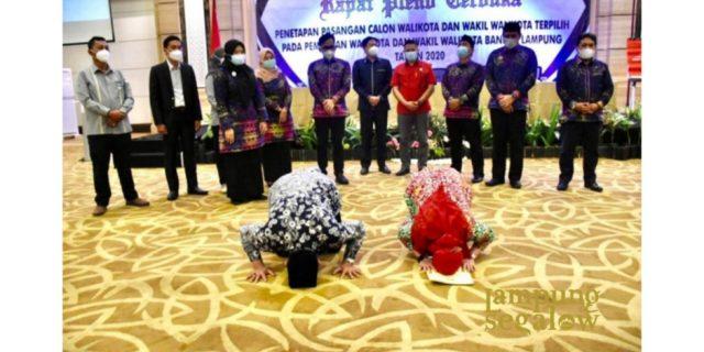 Eva-Dedi Terpilih Sebagai Pemenang Pilkada Kota Bandar Lampung