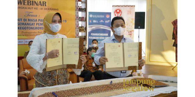 Bank Lampung Support Dekranas Lewat Transaksi Berbasis Digital