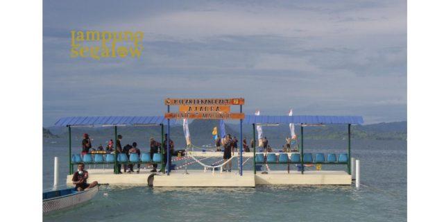 Kolam Renang Laut Pertama di Indonesia Ada di Yonif 7 Marinir