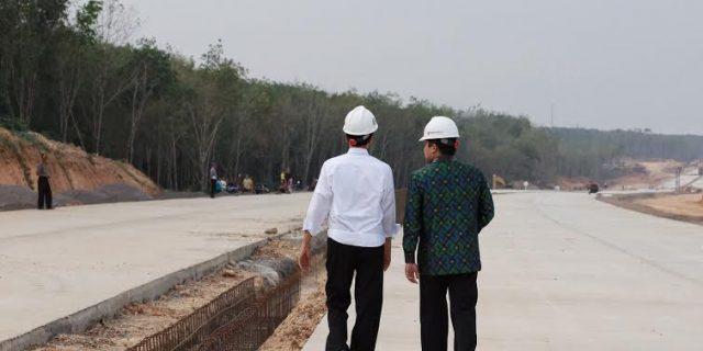 Jokowi & Ridho Resmikan Tol Sumatera
