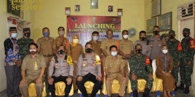 Kapolreata Resmikan Kampung Tangguh Nusantara (KTS) Optimalisasi PPKM berbasis Mikro