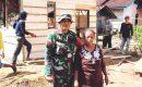 BERBEKAL DANA SWADAYA KOPTU ANAS RIADI BABINSA KORAMIL 411-04/GUNUNG SUGIH REHAB RUMAH IBU KARTIN