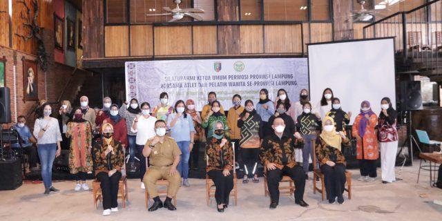 Ketua Umum Perwosi Provinsi Lampung Gelar Silaturahmi Bersama Atlet dan Pelatih Wanita se-Provinsi Lampung