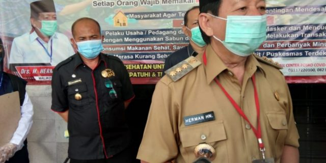 Herman HN Tak Denda Bagi Pelanggar Masker