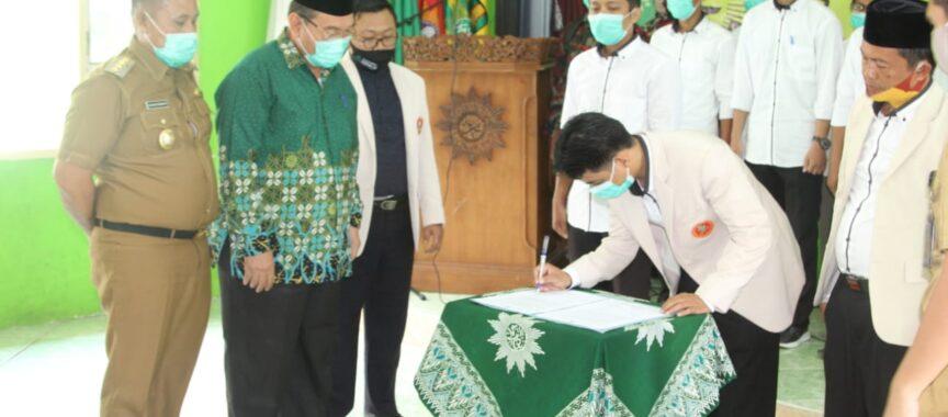Pelantikan Pimda Pemuda Muhammadiyah Masa Bakti 2019 – 2023, Nanang Dukung Penuh dan harap Pemuda Muhammadiyah Jadi Pelopor Pemuda Lamsel