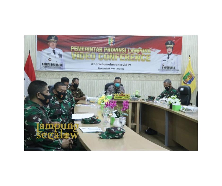 Sekda Lampung Hadiri Penyampaian Executive Summary KKDN