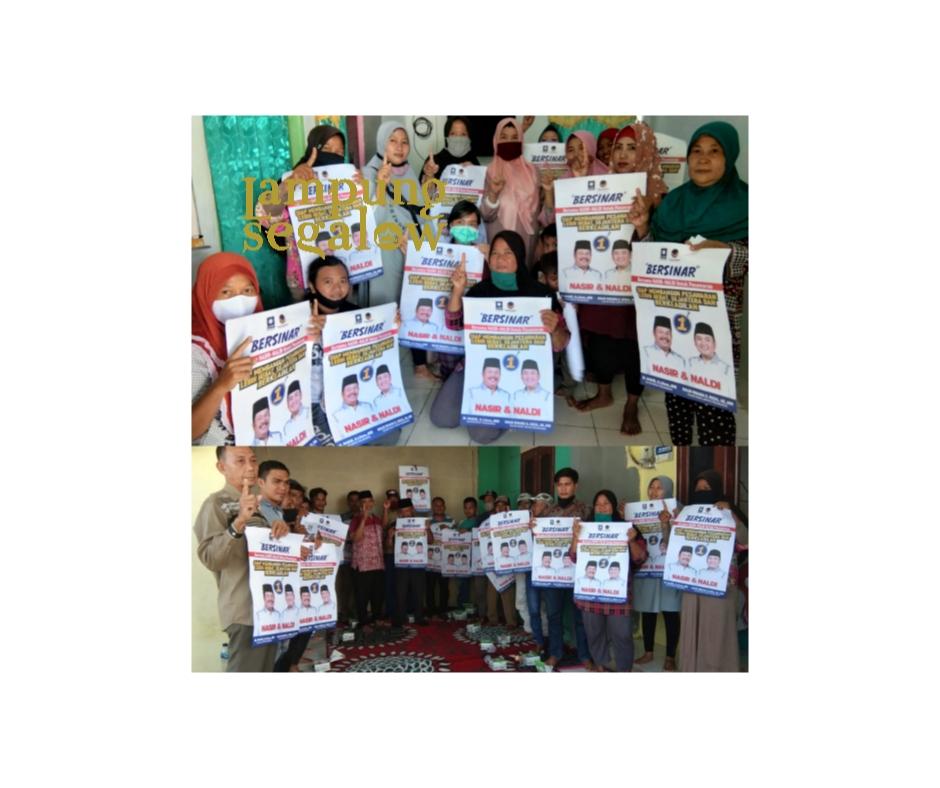 Temui Masyarakat, Tim Keluarga Bersinar Nasir-Naldi Dengarakan Aspirasi Nelayan Kecil