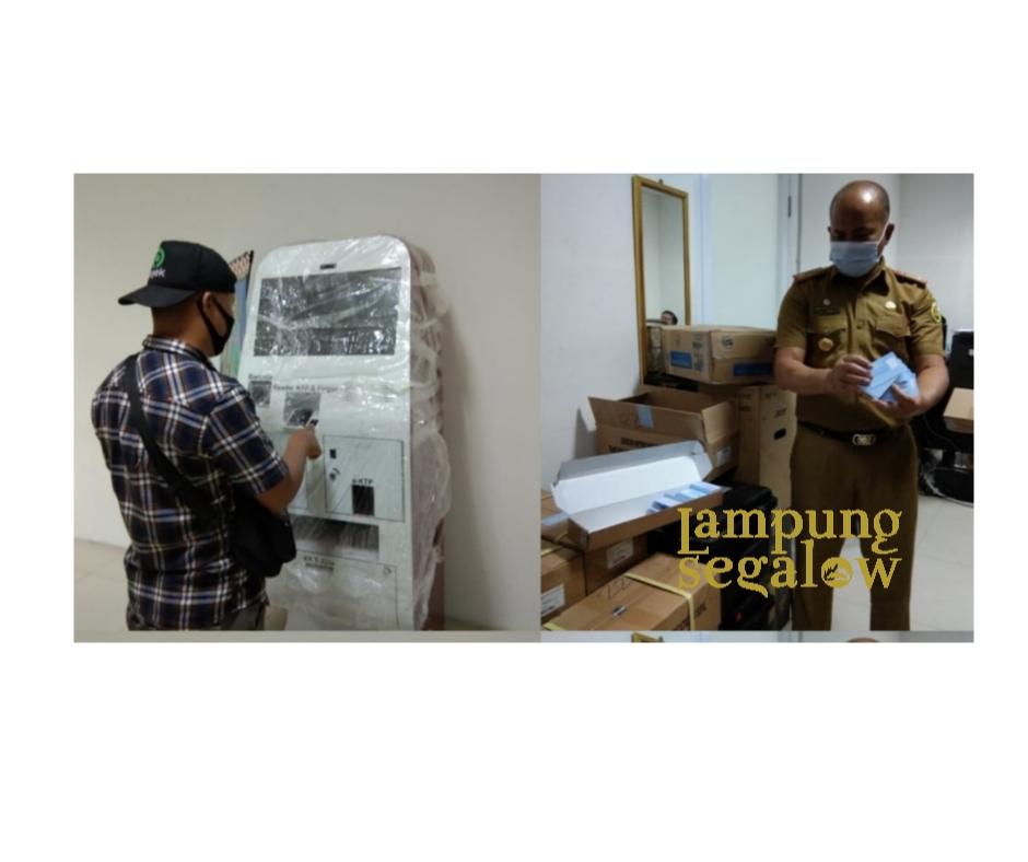 Disdukcapil Kota Bandarlampung Akan Launching Mesin ADM
