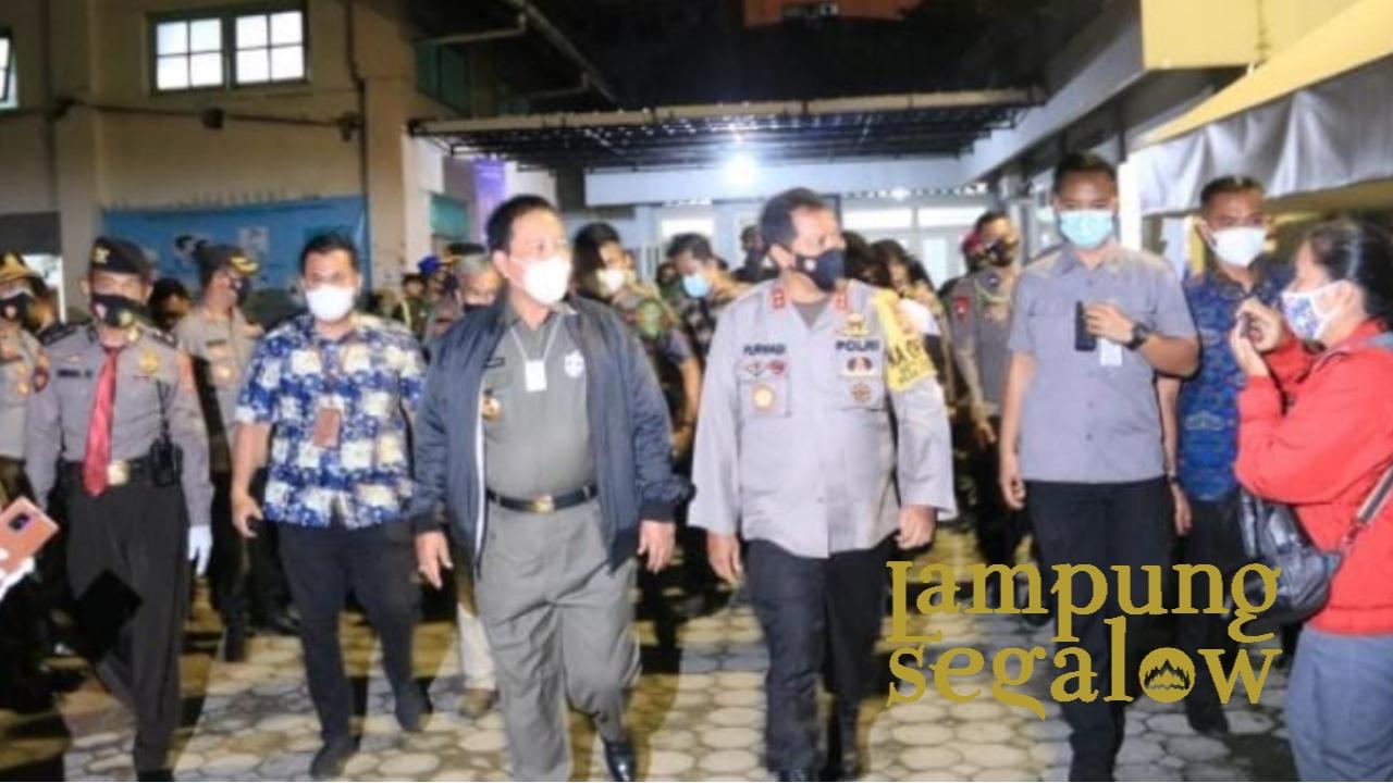 Bersama Jajaran Forkopimda, Gubernur Arinal Tinjau Ibadah Malam Natal