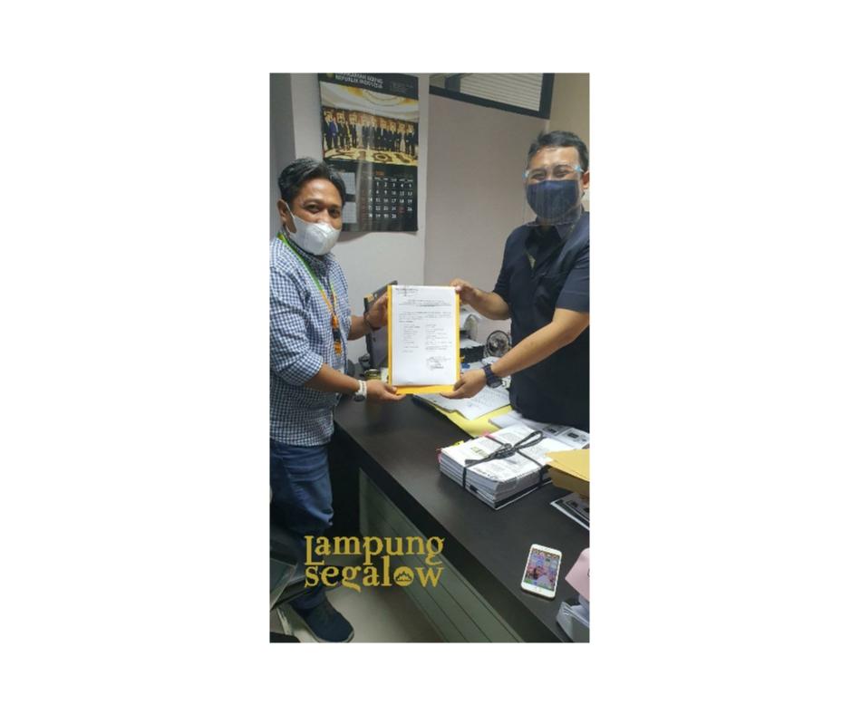 KPU Kota Bandar Lampung Resmi Memasukkan Jawaban Serta Daftar Alat Bukti ke MA