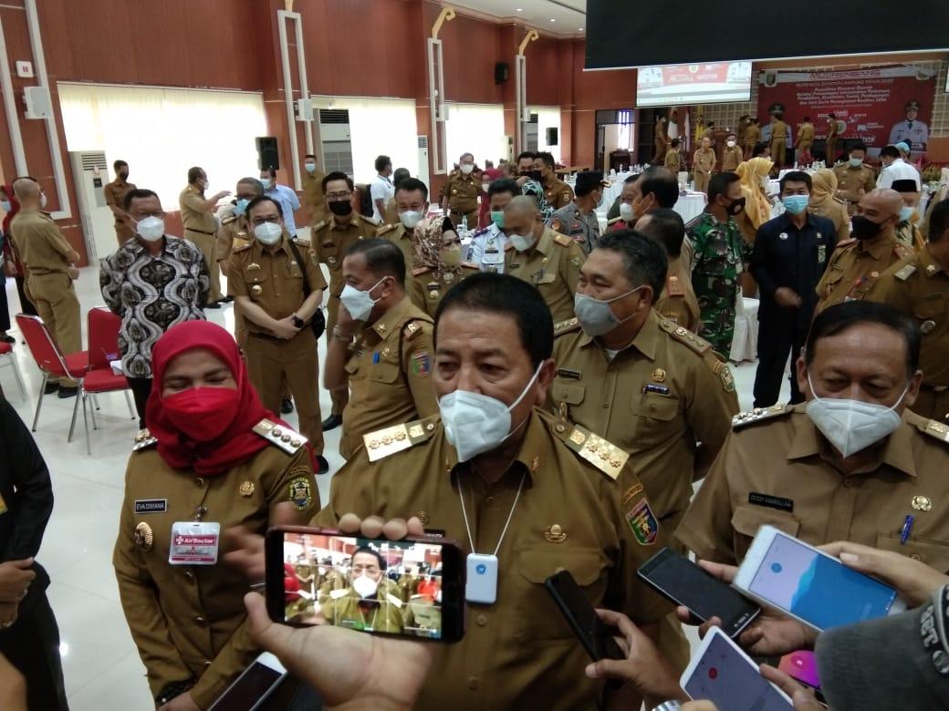 Gubernur Arinal Perintahkan Tutup Semua Penambang Liar di Campang Raya..