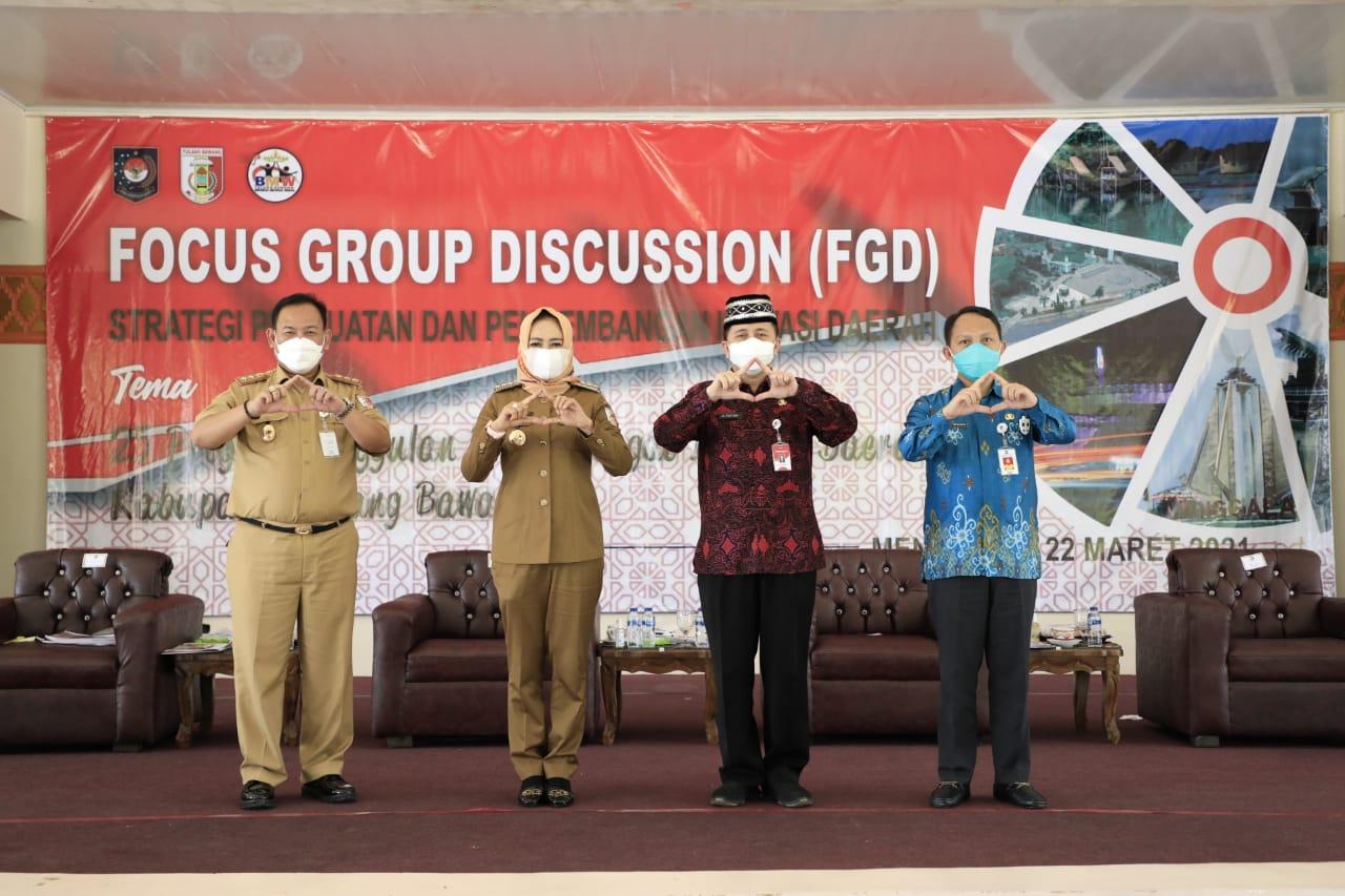 Kepala Badan Litbang Kemendagri, DR. Agus Fatoni Apresiasi Inovasi 25 Program BMW Kabupaten Tulang Bawang, Lampung