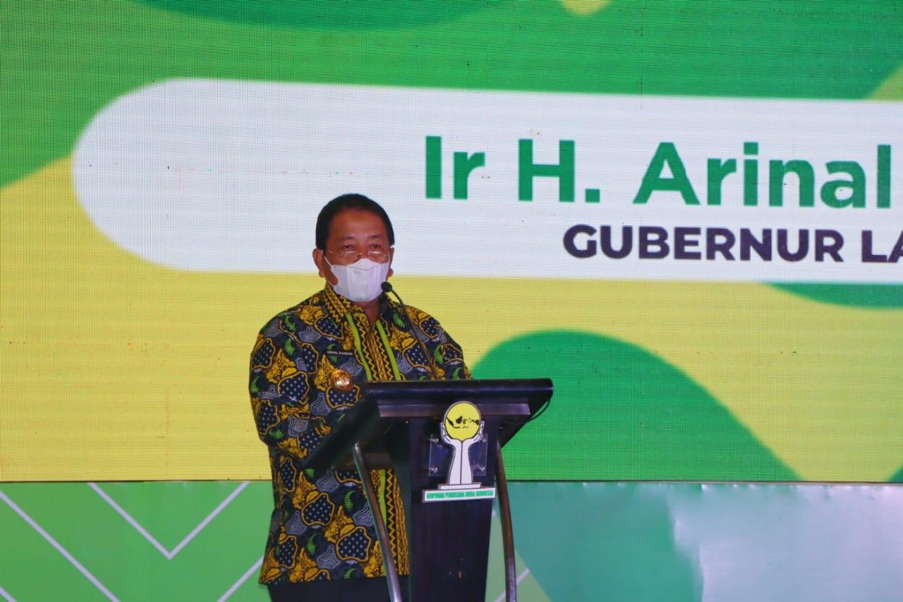 Gubernur Arinal Djunaidi Buka Musda XIV BPD HIPMI Lampung