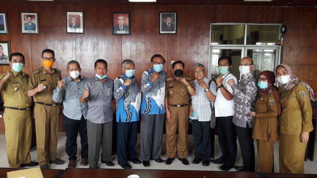 Dinas Perkebunan Provinsi Lampung Gelar Pertemuan Dengan Dewan Rempah Indonesia Wilayah Provinsi Lampung
