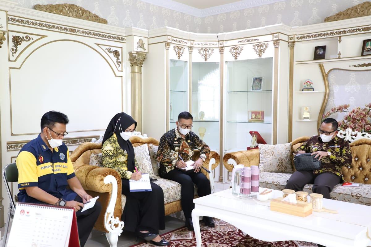 Gelorakan Semangat Membangun Lampung Lewat Seni dan Olah Raga, Riana Sari Arinal Berikan Arahan Kepada Pengurus PDBI Lampung