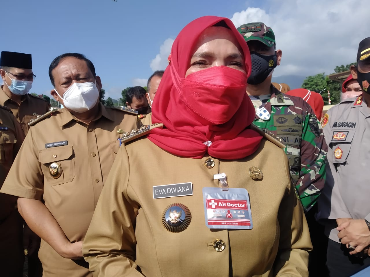 Walikota Eva Dwiana Angkat Bicara Terkait Dugaan Pemalsuan Tanda Tangan Camat Enggal