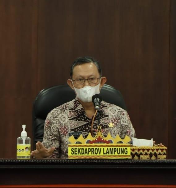 Gubernur Arinal Pimpin Rakor Bersama Dokter Dan Kepala RS Rujukan Covid