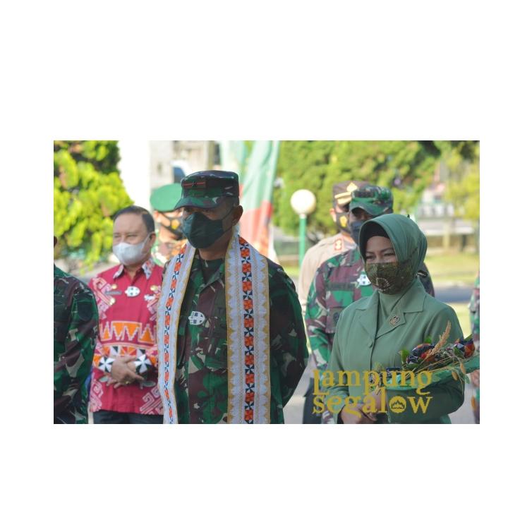 Danrem 043/Gatam Kunjungin Kodim 0422/Lampung Barat dan Kodim 0424/Tanggamus