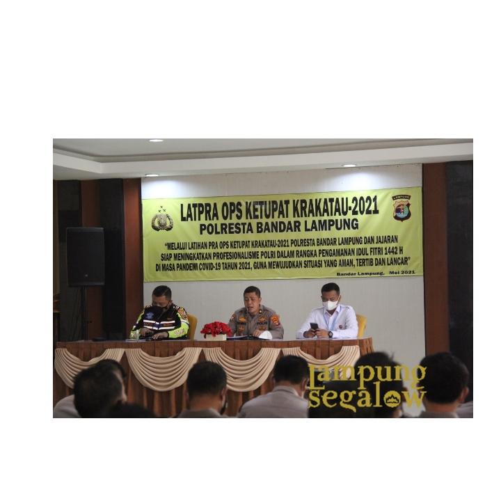 Jelang Ops Ketupat, Polresta Laksanakan Lat Pra Ops