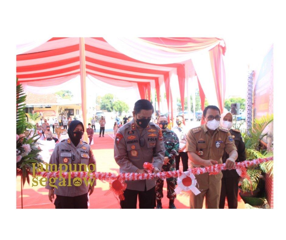 Kapolda Lampung Resmikan METRO BISA