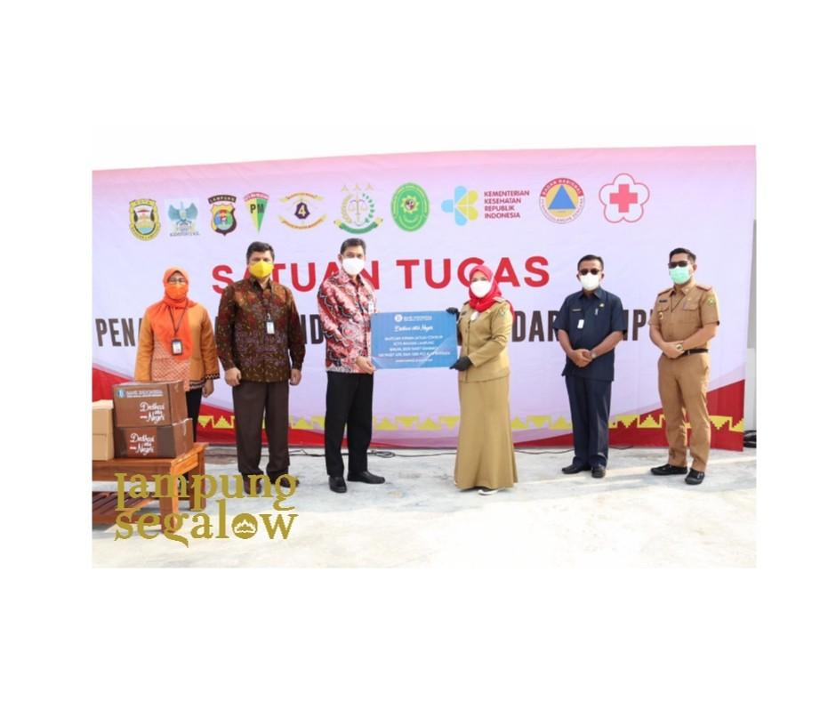 Bandarlampung Terima Bantuan Bank Indonesia
