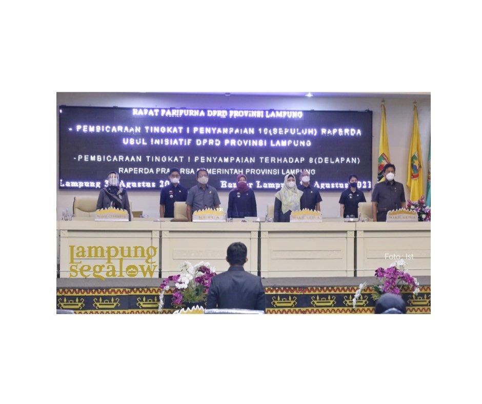 Chusnunia Sampaikan Raperda Prakarsa dan Pendirian BUMD Lampung