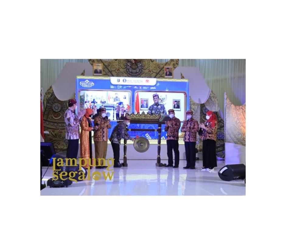 Lampung Begawi Resmi Dibuka