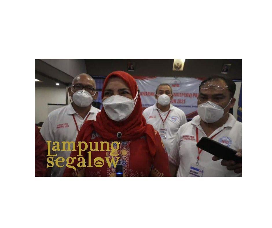 Eva Dwiana Ketua PBVSI Lampung
