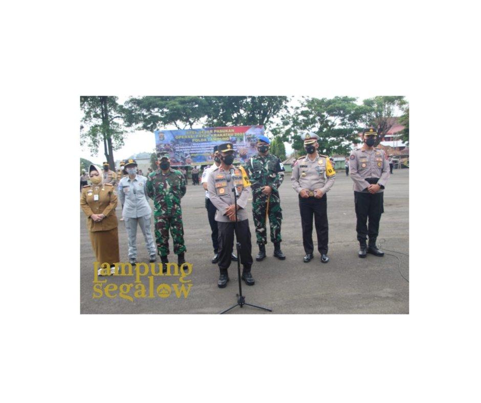Wakapolda Pimpin Pasukan Operasi Patuh Krakatau