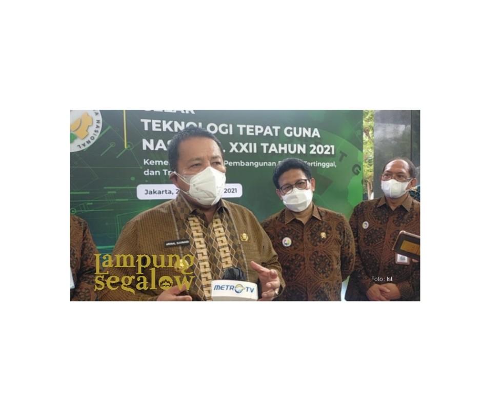 Lampung Terima Penghargaan TTG Nasional